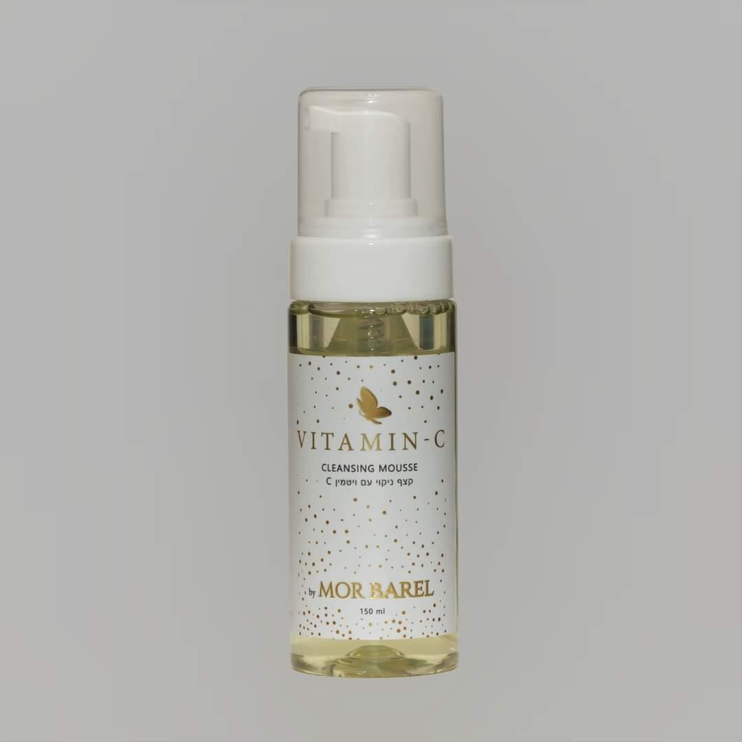VITAMIN-C סבון הקצפה של מור בראל